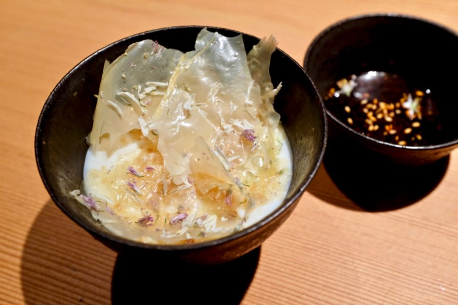 "Maum - ""Soondubu"", alliums, soy"