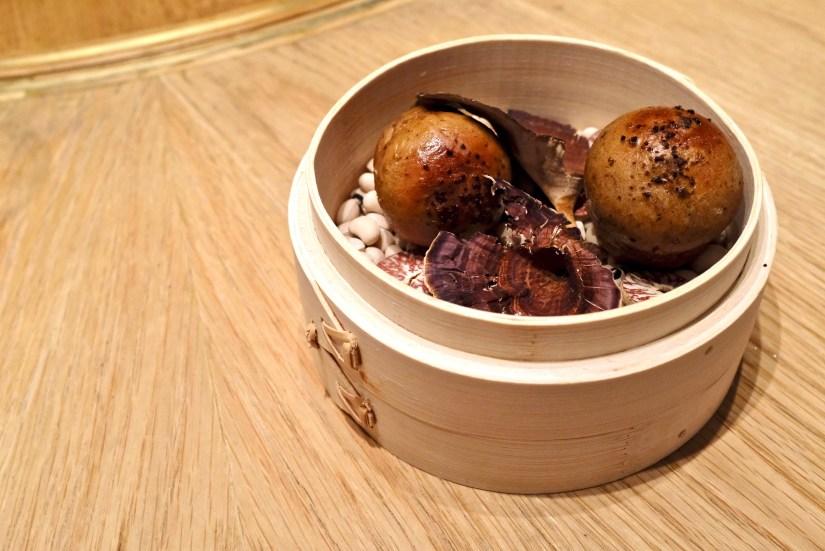 Gaggan at Eight Tables - Mushroom Pav