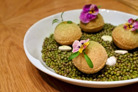 Gaggan at Eight Tables - Puchka Secret Curry