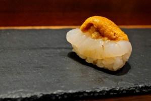 Kame Omakase - Hokkaido Scallop and Uni