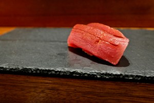 Kame Omakase - Akami (lean cut of bluefin tuna)