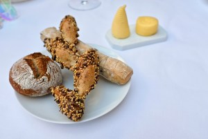 Epicure - Great bread selection - seaweed, cereal, olive