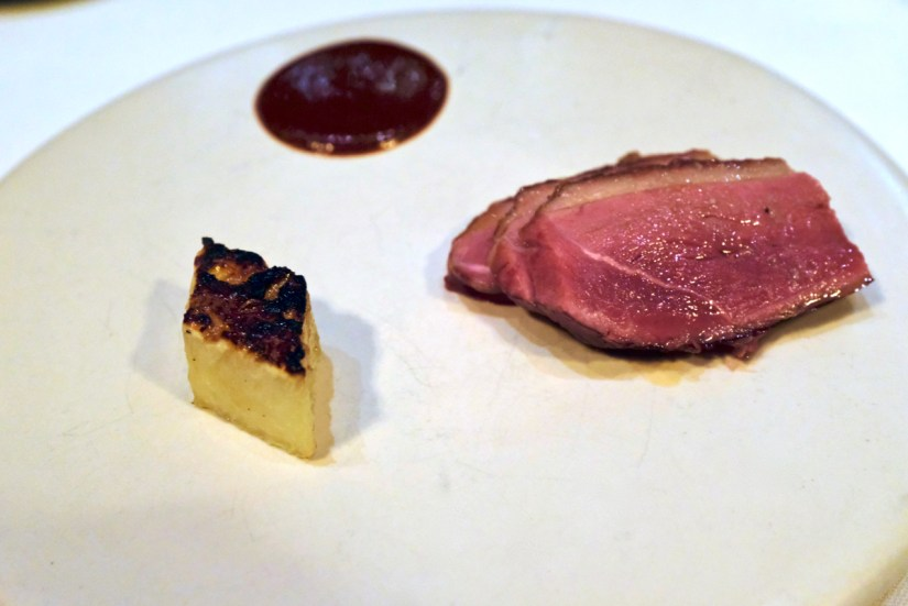 Californios - Barbacoa - Liberty Farms duck breast, smoked pineapple, mole