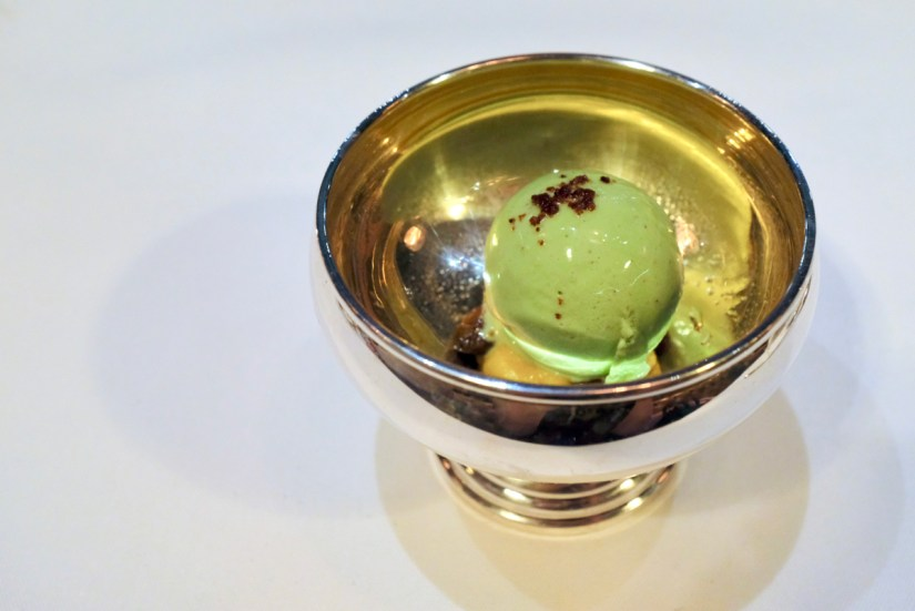 Californios - Pistacho - pistachio ice cream, pumpkin dulce de leche, cointreau