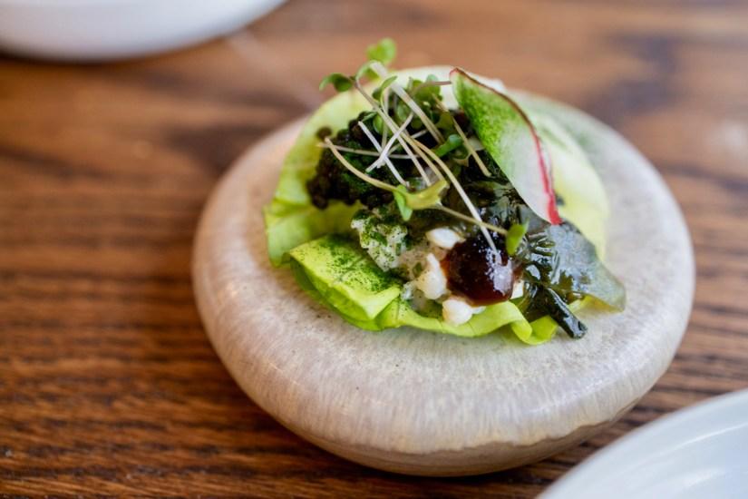 Daalder - Langoustine, imperial caviar, broccoli, nori
