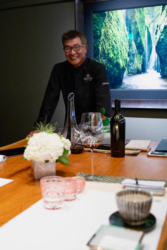 Chef Hiroshi Kimura