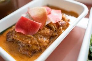 Nari Takeout - Gaeng Golek Gai - Crispy chicken thighs, malay-style golek curry, ajad pickles