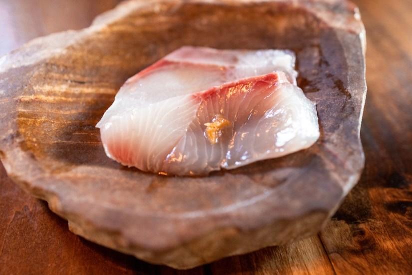 Kibatsu SF -Kanpachi and shima aji sashimi