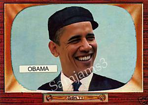 Obama Weird card of the Day