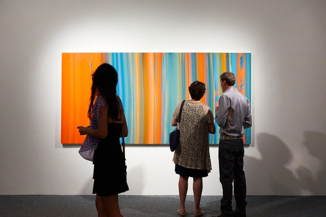 "Richard Levy Gallery, Exhibition ""That's Where You Need to Be,"" 2014"