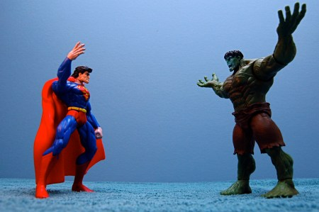 Superman vs The Incredible Hulk. You've Waited Long Enough.