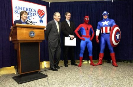 Spidey Wants You to Vote