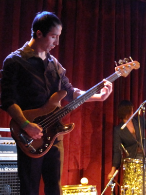 Mike Cohen on bass.