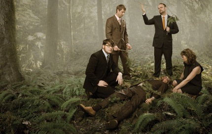 The Decemberists are featured in the current issue of Paste.