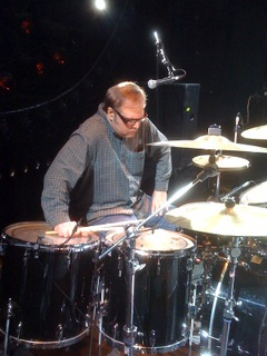 Dennis Diken on drums.