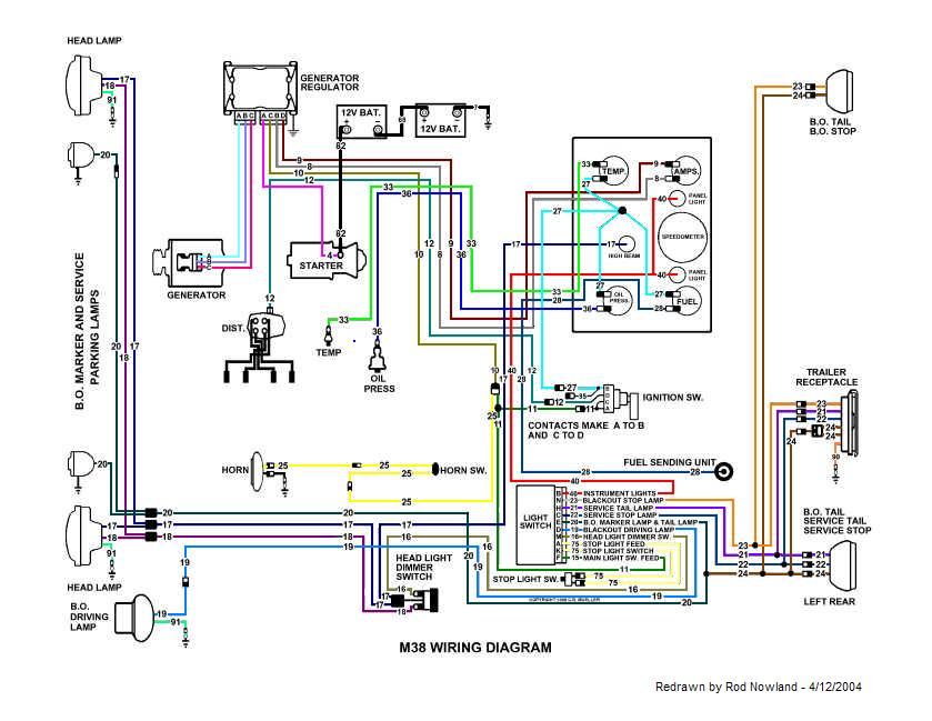 1951 M38 Off/On Switch Diagram Needed