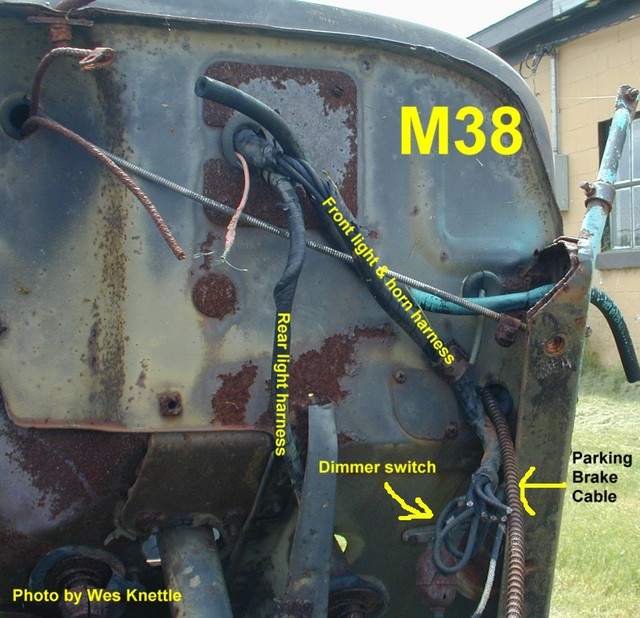 Willys M Jeeps Forums Viewtopic Early Wiring Harness