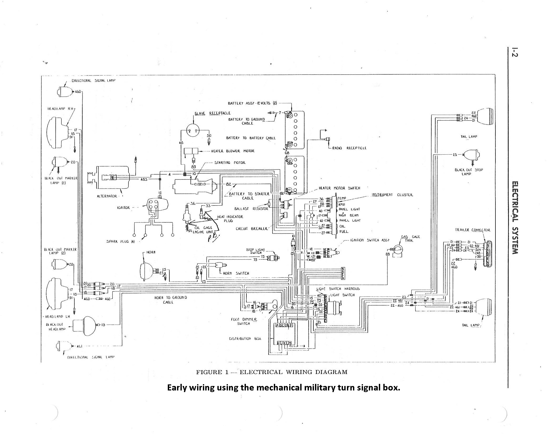 Willys M Jeeps Forums Viewtopic M38 Can 3 Electrical Schematic