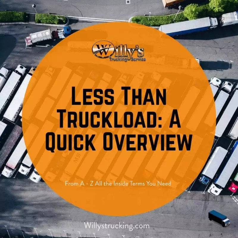 Willys trucking Less Than Truckload