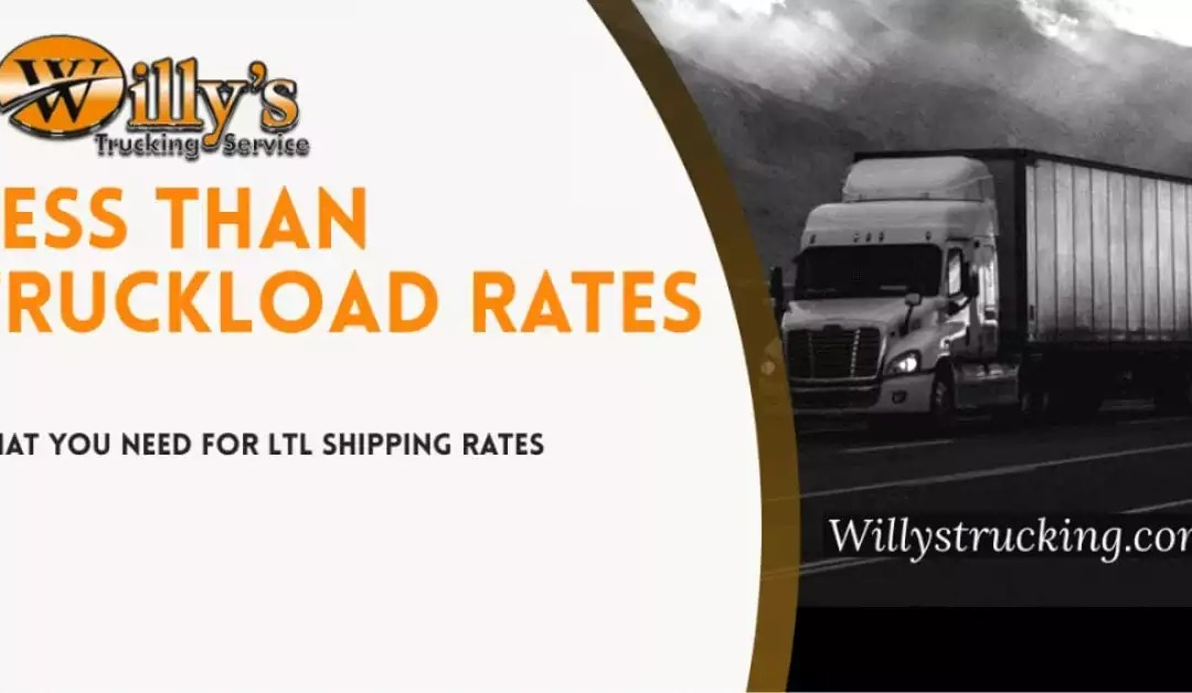 Less Than Truckload Rates