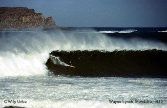 Una de las grandes para Wyane Lynch. Calificado en 1999 por Surfer Magazine como uno de los 13 surfistas más influyentes de la historia del surf.
