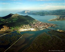 Santoña. Cantabria. Spain. Fotografía aérea. WU PHOTO © Willy Uribe Archivo fotográfico Reportajes
