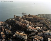 Castillo de Ibiza. Islas Baleares. WU PHOTO © Willy Uribe Archivo fotográfico Reportajes