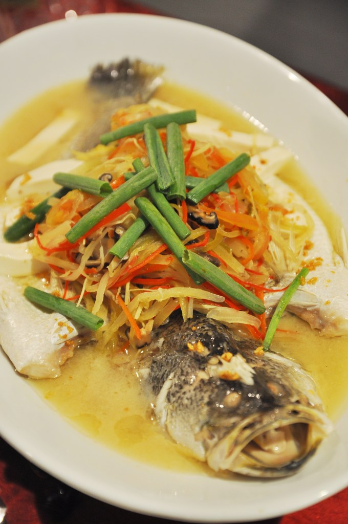 Steamed Fish_Teow Chew Style