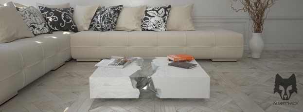 Coffee table: The Cube Essence Designer: Wilmer Chaca © All rights reserved.