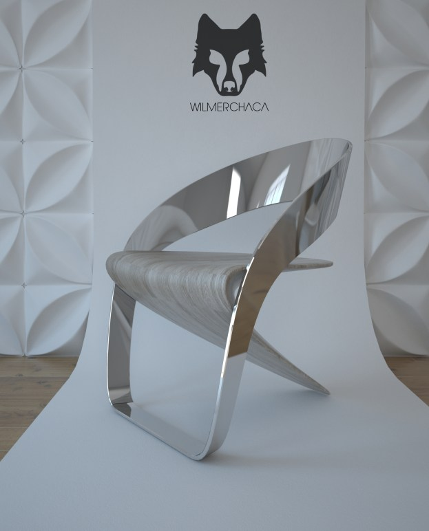 Chair: Ánima Designer: Wilmer Chaca © All rights reserved