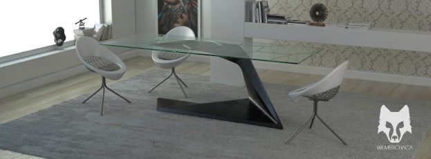 Dining Table: Ray Cut Designer: Wilmer Chaca © All rights reserved