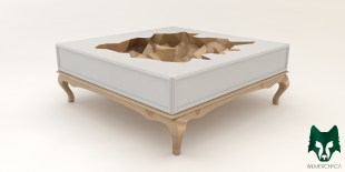 Coffee table: The Cube Essence II Designer: Wilmer Chaca © All rights reserved.