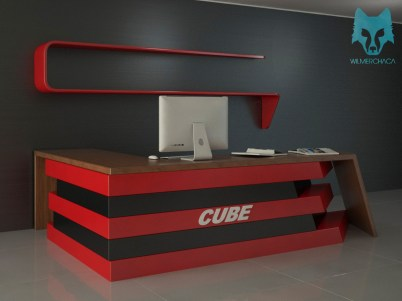Desk: Cube Designer: Wilmer Chaca © All rights reserved
