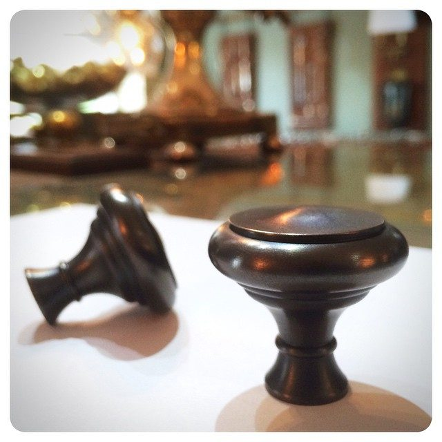 chrystie cabinet knobs | oil-rubbed bronze