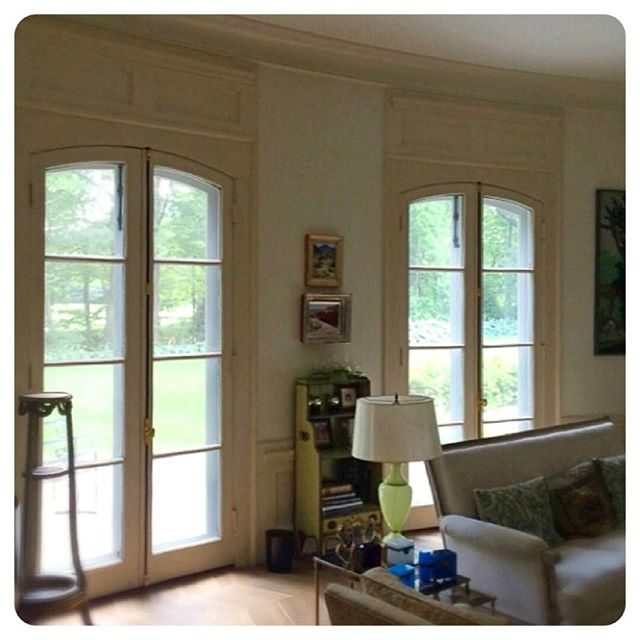 cremone hardware on fabulous French doors