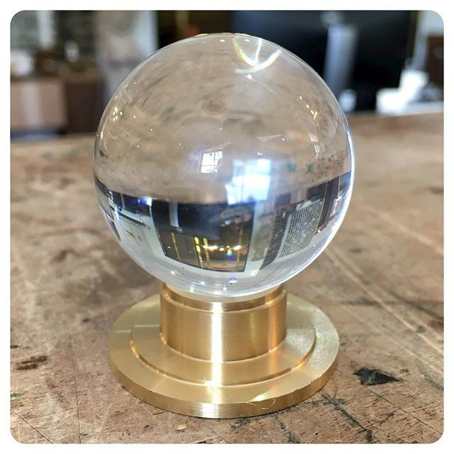 New crystal wardrobe knob 1 1/2