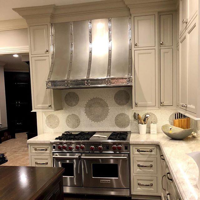 polished nickel cabinet hardware- traditionally inspired kitchen projectreadycabinethardware.com