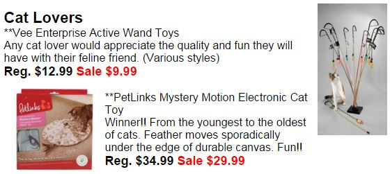 2015 top gifts cat lovers
