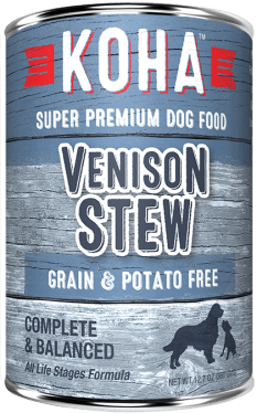 Koha canned dog food