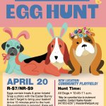 Stop by and say hi at our table at the Wilmette Park District's Doggie Egg Hunt