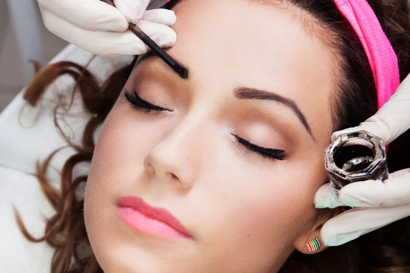 Brow and Lash Tinting in Wilmington