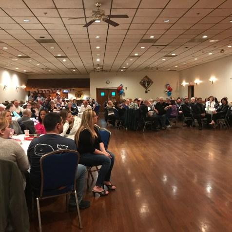 2017 DAVA Unit 110 Veterans Gala Packed House