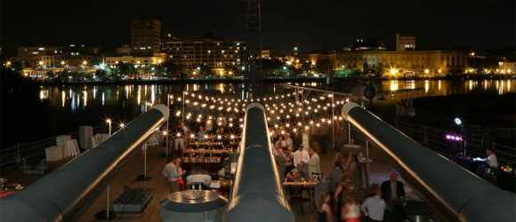 battleship-wedding-reception-event-string-lighting-