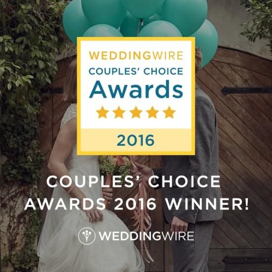 Wilmington NC 2016 Event Lighting Wedding Wire Couple Choice Awards Winner