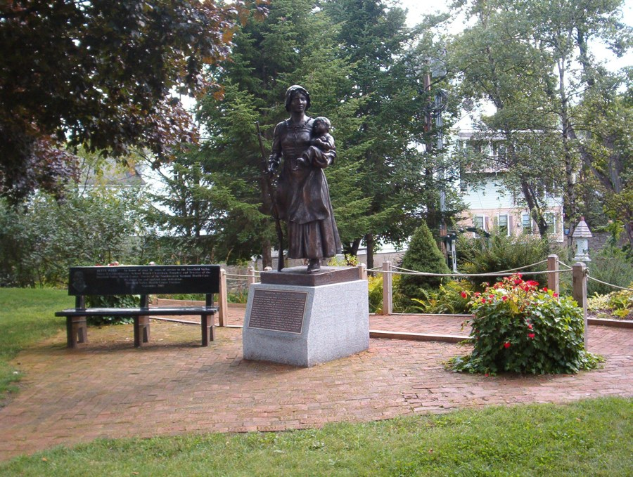 Molly Stark Statue by M. Towne