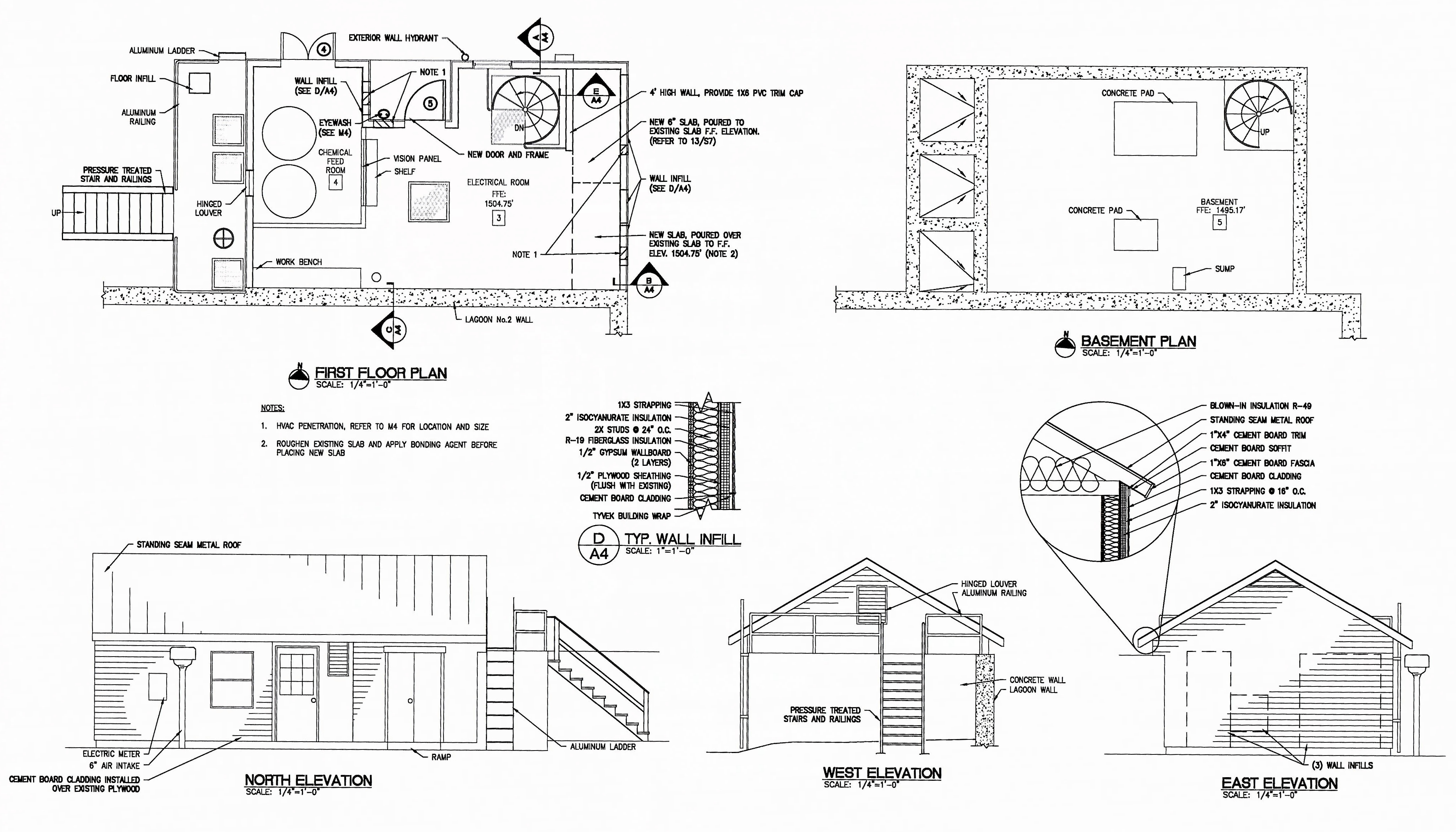 Wilmington Wastewater Facility Refurbishment Project John Deere Belt Diagram 8 10 From 7 Votes 9 New Primary Treatment Building