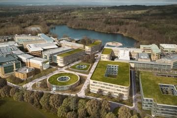 Alderley Park Aerial Shot