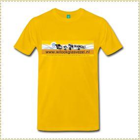 Maak reclame met een wilookglasvezel-t-shirt