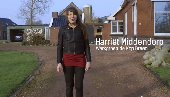 De Kop Breed  aan de glasvezel