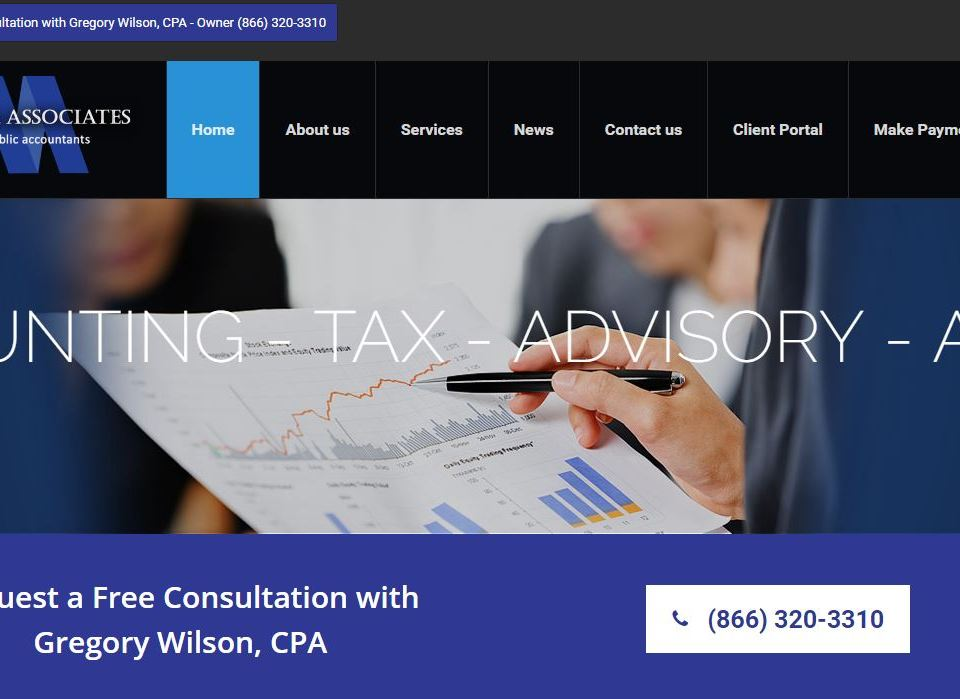 Wilson & Associates | Certified Public Accountants